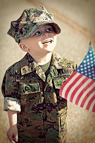 Photography Fan wallpaper containing a green beret, fatigues, and battle dress titled I love USA