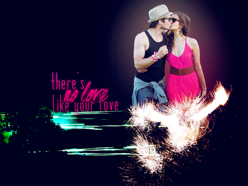 Ian/Nina ღ - ian-somerhalder-and-nina-dobrev Wallpaper