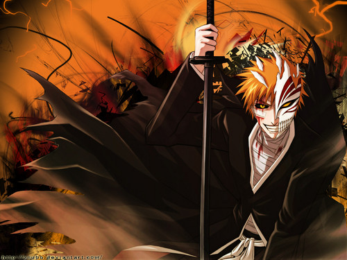 Bleach Anime wallpaper entitled Ichigo Kurosaki