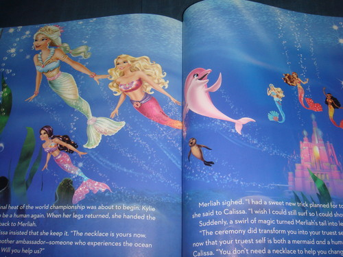 Inside of barbie MT2 - Big Golden Book