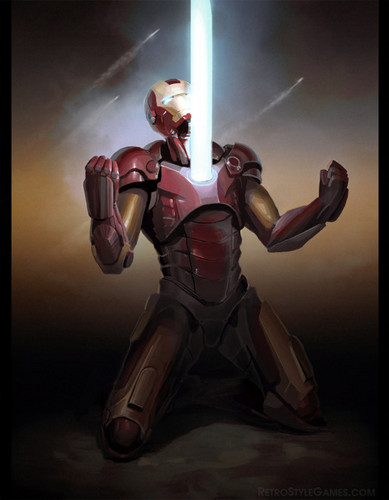 Iron Man wallpaper containing a breastplate titled Iron Man
