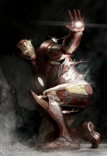 Iron Man wallpaper probably containing a helicopter called Iron Man
