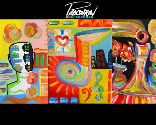 JOHN PESCORAN: Pop Art achtergrond