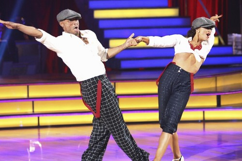 JR on Dancing With the Stars