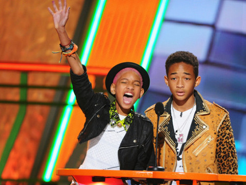 Jaden & Willow at KCAs 2012