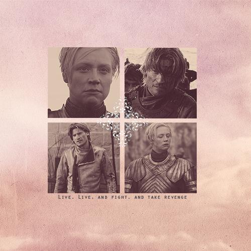 Jaime & Brienne - Jaime and Brienne Fan Art (30551832 ...