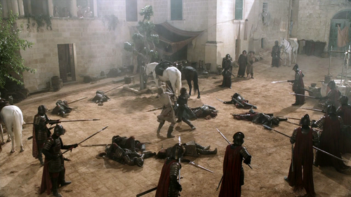 Jaime and Eddard