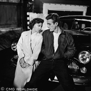 James Dean and Natalie Wood