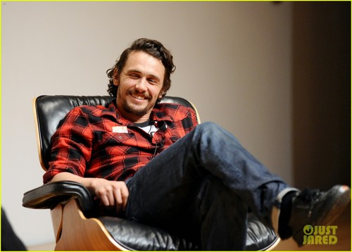James Franco wallpaper entitled James Franco: Book Signing at MOCA!