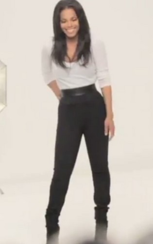 Janet Jackson Behind The Scenes Of Nutrisystem