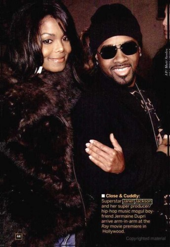Janet Jackson wallpaper with a fur coat called Janet