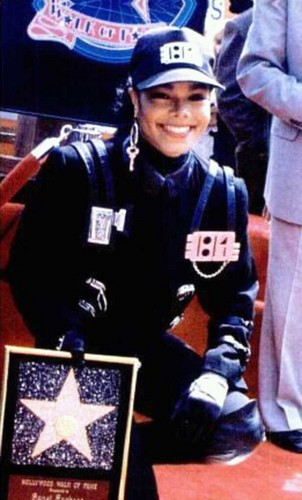 Janet Jackson wallpaper possibly containing a sign and regimentals titled Janet's Rare Photos