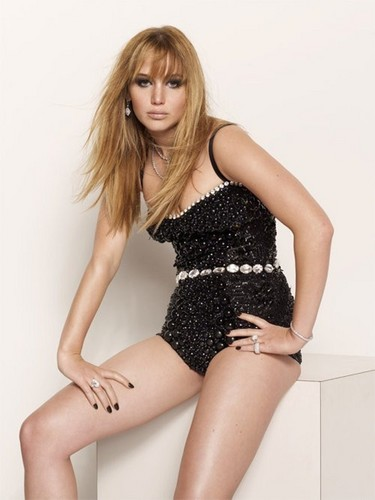 Jennifer Lawrence wallpaper containing a maillot titled Jennifer's Photo Outtakes