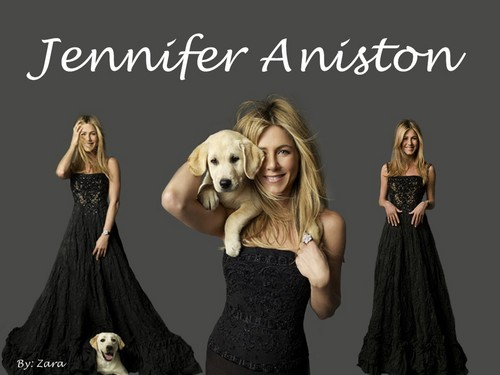 Jennifer Aniston wallpaper containing a dinner dress titled JenniferAniston!
