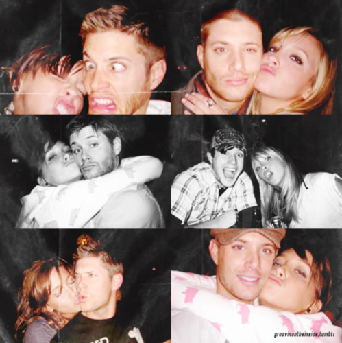 Jensen Ackles And Katie Cassidy - supernatural Photo