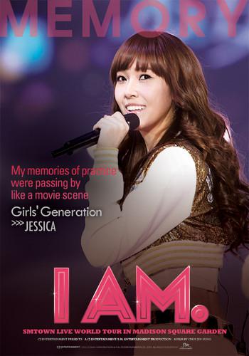 "Jessica ""I Am"" English poster"