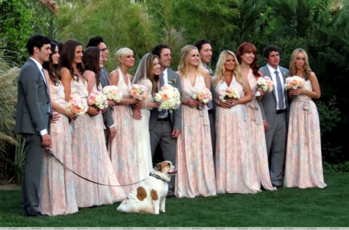 Jessica - Palm Springs - Lauren Zelman's Wedding - March 25, 2012 - jessica-simpson Photo