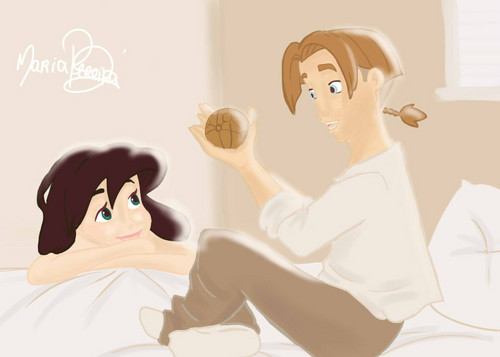 JiMel - Treasure Planet - disney-crossover Fan Art