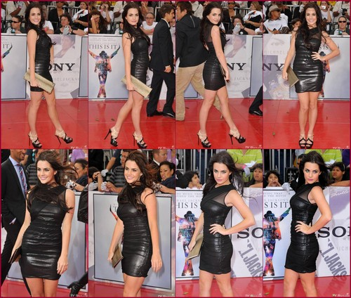 Jillian in Walking the Red Carpet