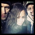 Joseph Morgan, Persia White and Luke Massey