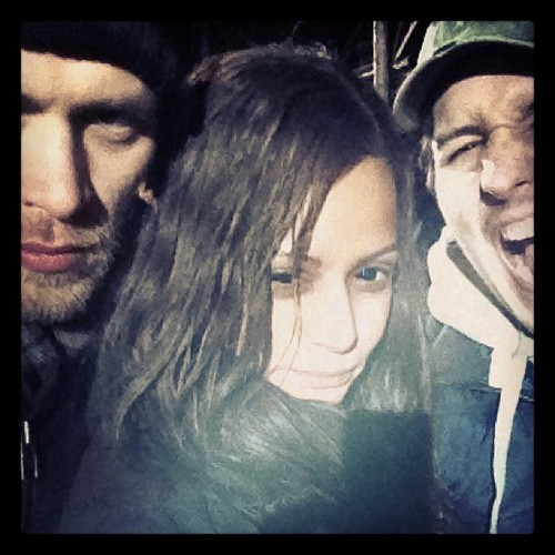 Joseph Morgan wallpaper called Joseph Morgan, Persia White and Luke Massey