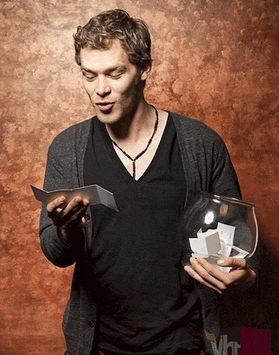 Joseph morgan at VH1
