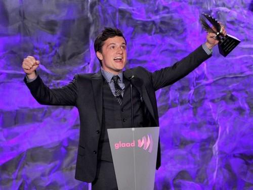 Josh at the GLAAD Media Awards