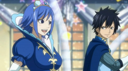Juvia and Grey