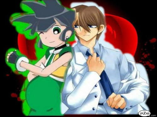 powerpuff girls Z wallpaper possibly with Anime entitled Kaiba looks at Kaoru Pregnancy