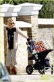 Kate Hudson & Bingham Visit Gwyneth Paltrow - kate-hudson photo