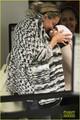 Kate Hudson Kisses Baby Bingham at LAX - kate-hudson photo