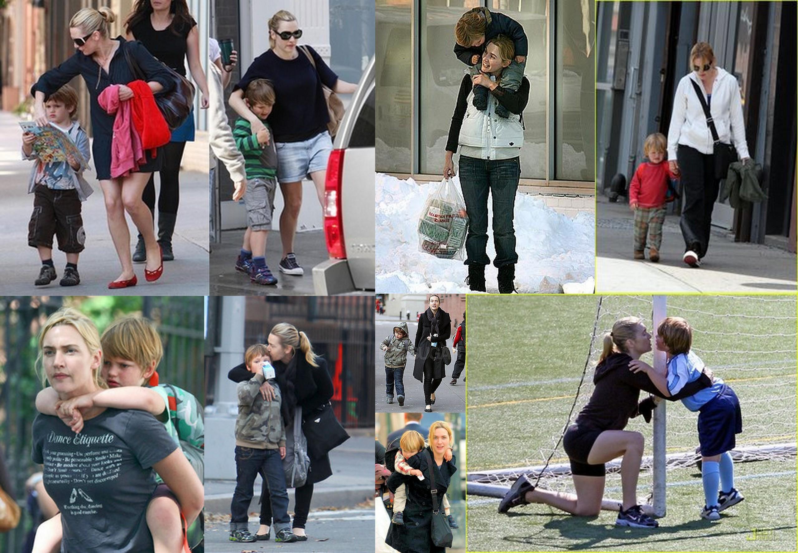 Кейт уинслет и ее дети фото