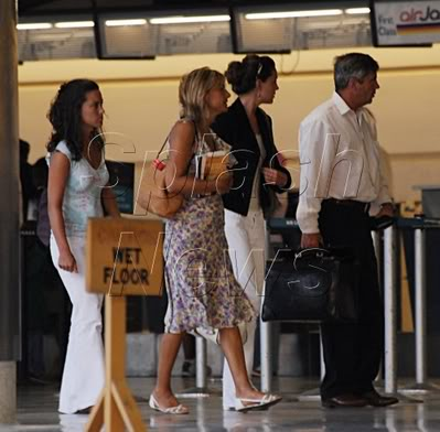 Kate leaving for vacation with family