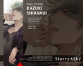 Kazuki Shiranui - 2012 Bday - starry-sky wallpaper
