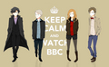 Keep calm watch bbc - wholock photo