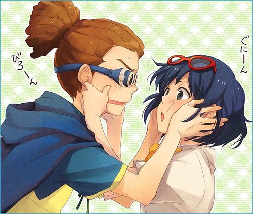 Kidou and Haruna