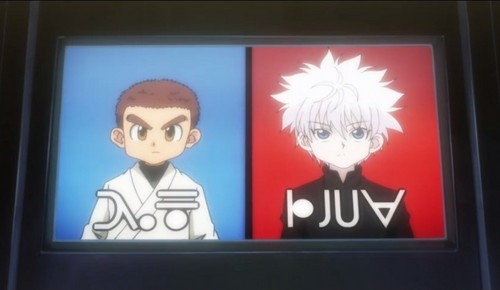 Killua and Zushi