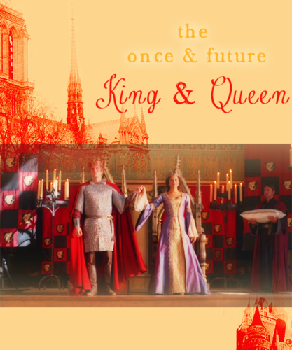 Arthur and Gwen wallpaper called King Arthur and Queen Guinevere