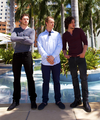 Kit Harington, Alfie Allen & Richard Madden in Miami  - game-of-thrones photo
