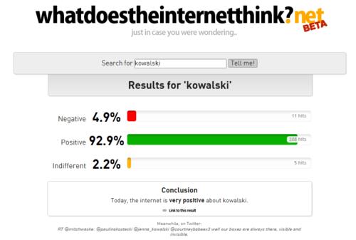 Kowalski fangirls are EVERYWERE! O.O