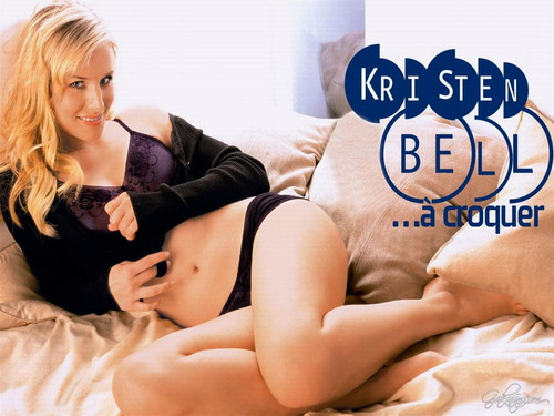 Kristen Bell wallpaper with skin entitled Kristen Bell