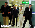 Lady Gaga arriving in Seoul, South Korea (April 20th)