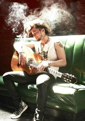 Leather & Smoke photoshoot