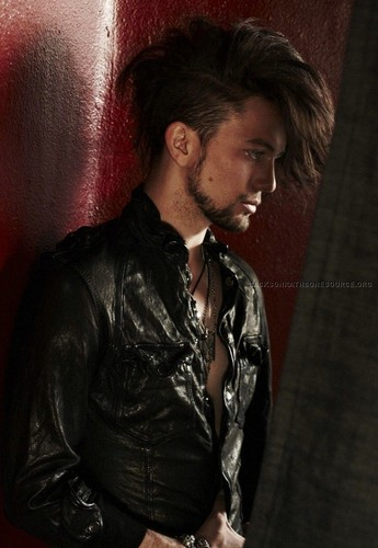Leather & Smoke photoshoot - jackson-rathbone Photo