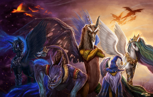 Legends of the Equestria