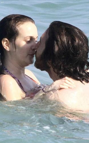 Leighton on vacation in Rio de Janeiro with boyfriend Aaron Himelstein
