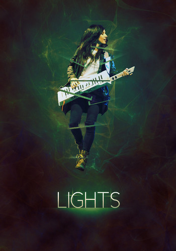 Lights - music Fan Art