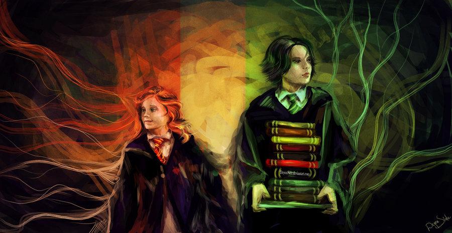 Lily And Severus Severus Snape Fan Art 30589007 Fanpop
