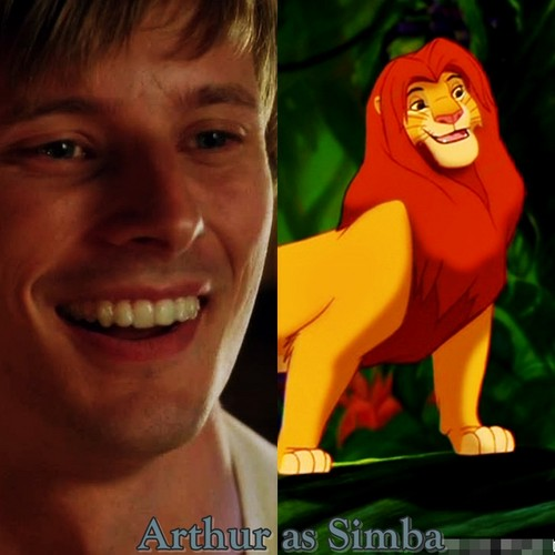 Lion King vs Merlin - Thanks for your inspiration Stacey.