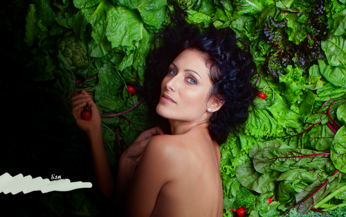 Lisa Edelstein wallpaper possibly containing skin called Lisa Edelstein wallpaper